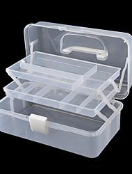 dísz szerszám tároló doboz fehér műanyag doboz tároló doboz