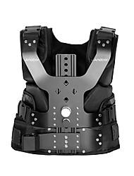 andoer b200-c1 pro videostudio fotografie aluminiumlegering lasvest 16mm single demping armsteun schouder stabilisatie voor steadycam