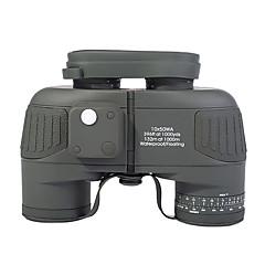 10X50 mm Dalekohled Voděodolné Taktický Armáda Kompas BAK4 Tam Çoklu-kaplamalı 132m/1000m Centrální zaostření Nezávislé zaostření