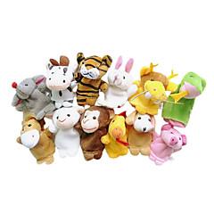 Hračky Prstová loutka Zvířata Animák Hry a puzzle Pro chlapce Pro dívky Textil