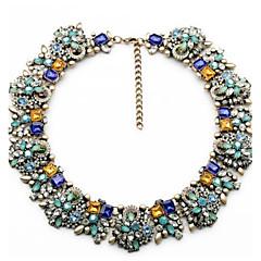mote kjede vintage blomst halskjeder & anheng krystall choker smykke