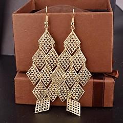 Femme Boucles d'oreille goutte Bijoux Fantaisie Fête / Célébration Européen bijoux de fantaisie Alliage Forme Géométrique Bijoux Pour