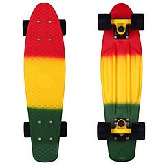 22 Zoll Standard-Skateboards PP (Polypropylen) Abec-11 Regenbogen