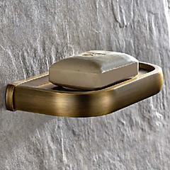 Sæbeskål Antik messing Vægmonteret L19.5*W9.3*H5cm(L7.7*W3.7*H1.9inch) Messing Antik