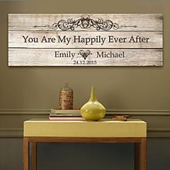 מסגרת שבד חתימה אישית דואר home® הוא באושר ועושר