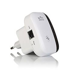 wireless repetidor de sinal amplificador 802.11n reforços de sinal / b / g Wi-Fi gama extander 300mbps repetidor WPS-eu wi-fi