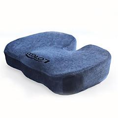 lorcoo® nova memória ortopédica cóccix almofada do assento de espuma para a parte inferior cadeira de escritório casa de carro assentos