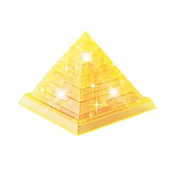 Quebra-cabeças Quebra-Cabeças 3D Quebra-Cabeças de Cristal Blocos de construção Brinquedos Faça Você Mesmo Construções Famosas