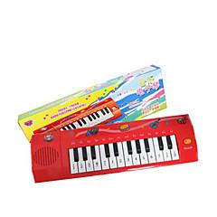 plastu červenými simulace dítě klávesnice pro děti od 3 hudebních nástrojů hračka