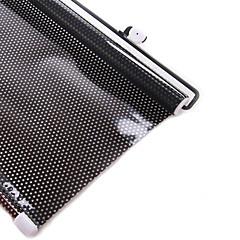 Pontos pretos pvc pára-brisa dianteira dianteira protetor solar40 * 60cm