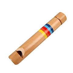dříví žlutých dětské dřevěné flétny pro děti všechny hudební nástroje, hračky