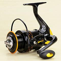 Molinetes Rotativos 5.2/1 13 Rolamentos Trocável Rotação Pesca de Isco-AD2000-5000