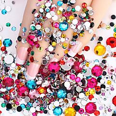 2000pcs Nail Art Decoration tekojalokivi Pearls meikki Kosmeettiset Nail Art Design
