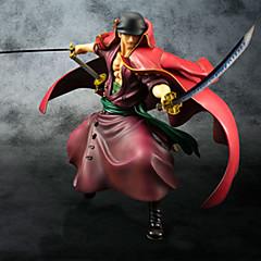 애니메이션 액션 피규어 에서 영감을 받다 One Piece Roronoa Zoro PVC 23 CM 모델 완구 인형 장난감