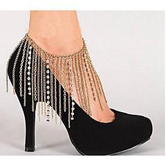 Žene Kratka čarapa/Narukvice Imitacija dijamanta Legura Moda Europska luksuzni nakit Štiklu Jewelry Za Vjenčanje