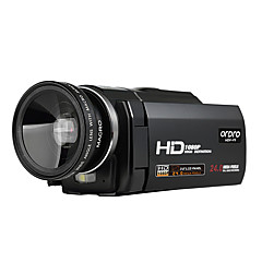 ordro® HDV-f5 с широкоугольным объективом 1080p внешняя поддержка батареи функция макросъемки цифровой видеокамеры