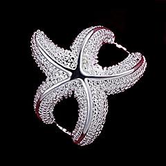 Naisten Tyylikkäät sormukset pukukorut Sterling-hopea Korut Käyttötarkoitus Häät Party Päivittäin Kausaliteetti