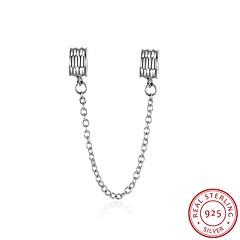 euramerican Art beliebte Modeschmuck 925 Sterling Silber Sicherheitskette Zubehör