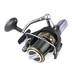 Molinetes de Pesca Molinetes Rotativos 4.1:1 14 Rolamentos Trocável Pesca de Mar-GH8000