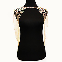 Žene Nakit za tijelo Tijelo Chain / Belly Chain Nature Moda Bohemia Style Legura Zlato Jewelry Za Special Occasion Kauzalni 1pc