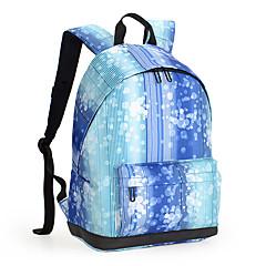 13-tuumainen kevyt nylon PU nahka matkustusreppuun reppu naisten koululaukku Tietokonereppu päiväreppu kouluun työskentelevät vaellus