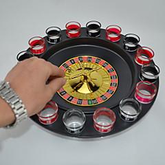 Brettspiel Kreisförmig Glas