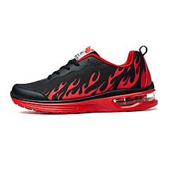 נעלי ספורט נעלי טיולי הרים נעלי ריצה בגדי ריקוד גברים נגד החלקה Anti-Shake עמיד בפני שחיקה קל במיוחד (UL) עור PVC גומי ריצה ספורט פנאי