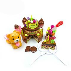 Toy Foods Kinderkochgeräte Spielzeuge Kunststoff Jungen Mädchen
