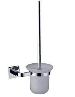 Toiletbørsteholder / KromMessing /Moderne