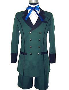 Inspirovaný Black Butler Ciel Phantomhive Anime Cosplay kostýmy Cosplay šaty Jednobarevné Dlouhý rukáv Nákrčník Kabát Tričko Kraťasy Pro