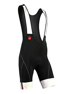 SANTIC Bermudas Bretelle Homens Moto Calções Bibes Shorts Acolchoados Calças Secagem Rápida Permeável á Humidade Respirável Tiras