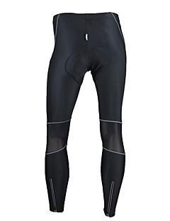 SANTIC Calças Para Ciclismo Homens Moto Calças Meia-calça Térmico/Quente A Prova de Vento Design Anatômico Vestível Alta Respirabilidade