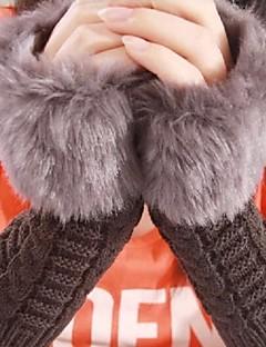 Women'S Imitation Rabbit Fur Gloves