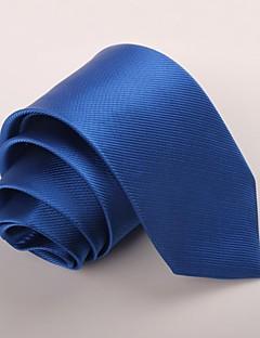 Herrer Slips-Fest Kontor Afslappet Polyester-Ensfarvet