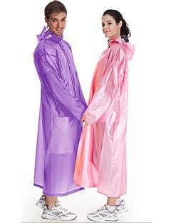 Unisexo Capa de Chuva de Trilha Portátil Á Prova-de-Chuva Transparente N/D Casaco Impermiável Jaqueta Feminina para Acampar e Caminhar