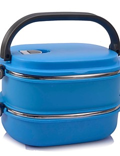 1 Bucătărie Oțel Inoxidabil Plastic Cutii de Prânz
