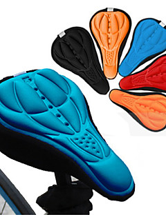 Cycling Bike Saddle Comfortable Cushion Soft Pad Bicycle Seat Cover(Assorted Color,1pc)