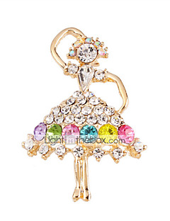 imitație de diamant bijuterii de lux Curcubeu Bijuterii Nuntă Petrecere Ocazie specială Zi de Naștere