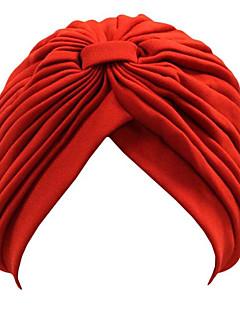 レディース 冬 ヴィンテージ キュート パーティー オフィス カジュアル アクリル 純色 ビーニー帽