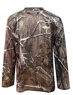 ta1-002a bionikus álcázás vadászati terepszínű póló, gyorsan száradó, hosszú ujjú ruha katonai rajongók