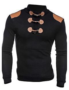 Herren Freizeit / Sport Activewear Sets - Einfarbig Lang Baumwolle
