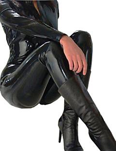 Zentai Anzüge Cosplay Kostüme Cosplay Fest/Feiertage Halloween Kostüme Schwarz einfarbig Gymnastikanzug/EinteilerHalloween Karneval