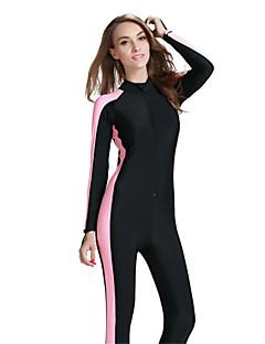 SBART Női 2mm Nedves ruhák Szörfoverall Dive Skins Ultraibolya biztos Légáteresztő Teljes védelem Tömörítés Tactel Búvárruha