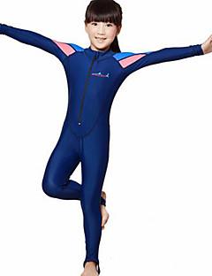 Dive&Sail 아동 2mm 잠수복 다이빙 스킨 전신 잠수복 자외선 방지 압축 풀 바디 탁텔 잠수복 긴 소매 다이빙 복 수영복-다이빙 파도타기 스노쿨링