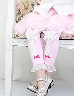 Mädchen Hose / Leggings-Lässig/Alltäglich Patchwork Baumwolle Frühling / Herbst Rosa