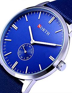 Dámské Sportovní hodinky Vojenské hodinky Hodinky k šatům Módní hodinky Náramkové hodinky Křemenný Barevná Kůže Kapela Retro Cool Běžné