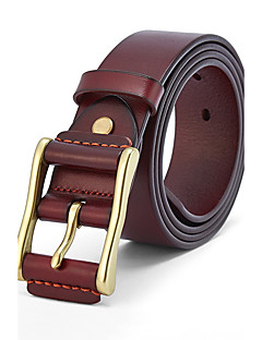 Men's Alloy Wide Belt,Work Casual Geometric
