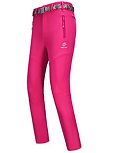 Roupa de Esqui Calças Mulheres Roupa de Inverno Vestuário de Inverno Prova-de-Água Térmico/Quente A Prova de Vento Vestível Respirável