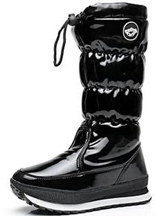 מגפיים-לנשים לילדים בנות-סקי ספורט פנאי ספורט שלג(שחור פוקסיה)