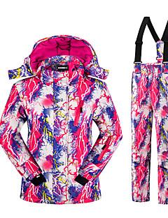 Roupa de Esqui Conjuntos de Roupas Crianças Roupa de Inverno Poliéster Moderno Vestuário de InvernoTérmico/Quente Respirável Confortável